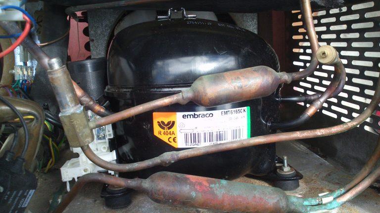 Compressor para Maquina de Gelo